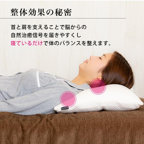 寝ている間に身体を整えてくれる枕